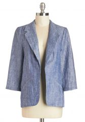 Designer by Day Blazer at ModCloth