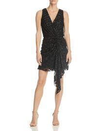 Desiree Drape-Front Dress at Bloomingdales