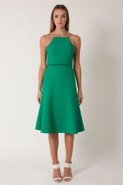 Devine Dress in Green Cove at Black Halo
