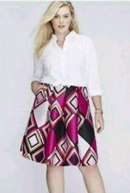 Diamond Skirt at Lane Bryant
