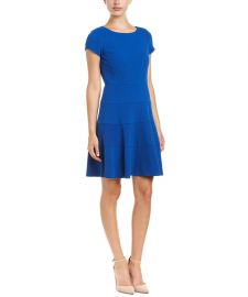 Diamond Textured A-Line Dress by Rebecca Taylor at Bluefly