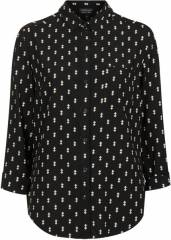 Diamond print shirt at Topshop
