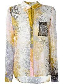 Diane Von Furstenberg Abstract Print Shirt at Farfetch