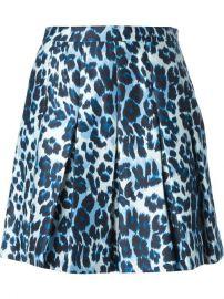 Diane Von Furstenberg Leopard Print Skirt - Mohge andamp Maude at Farfetch