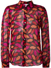 Diane Von Furstenberg Lips Printed Shirt at Farfetch