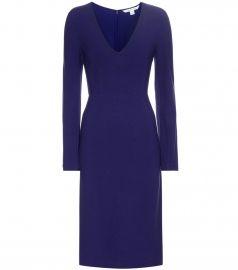 Diane Von Furstenberg Milena stretch-crepe dress at Mytheresa