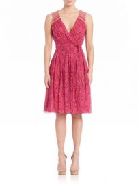 Diane von Furstenberg - Bali Printed Silk Dress at Saks Off 5th