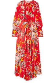 Diane von Furstenberg   Bethany floral-print silk crepe de chine maxi dress at Net A Porter