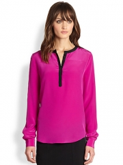 Diane von Furstenberg - Maisy Silk Blouse at Saks Fifth Avenue