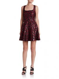 Diane von Furstenberg - Minnie Printed Fit-andamp-Flare Dress at Saks Fifth Avenue