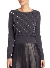 Diane von Furstenberg - Revaya Wool   Cashmere Sweater at Saks Fifth Avenue