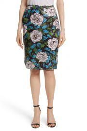Diane von Furstenberg   Sequined Floral Pencil Skirt   Nordstrom Rack at Nordstrom Rack