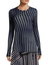 Diane von Furstenberg - Stripe Vertical Top at Saks Fifth Avenue