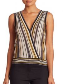 Diane von Furstenberg - Velda Sleeveless Top at Saks Off 5th