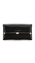 Diane von Furstenberg 440 Studded Envelope Clutch at Shopbop