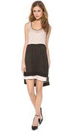 Diane von Furstenberg Abrielle Crystal Scoop Colorblock Dress at Shopbop
