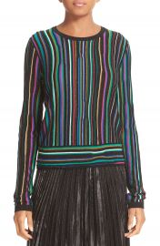 Diane von Furstenberg Arisha Nep Stripe Sweater at Nordstrom