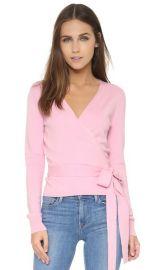 Diane von Furstenberg Ballerina Silk Wrap Sweater at Shopbop
