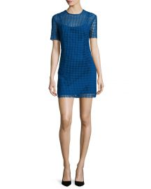 Diane von Furstenberg Chain Lace Dress at Neiman Marcus