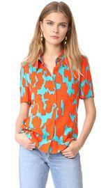Diane von Furstenberg Collared Shirt at Shopbop
