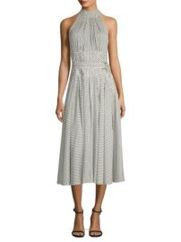 Diane von Furstenberg Dot Print Halter Dress at Saks Fifth Avenue
