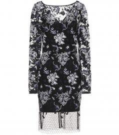 Diane von Furstenberg Embroidered lace dress at Mytheresa