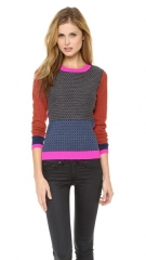 Diane von Furstenberg Fairlee Texture Sweater at Shopbop