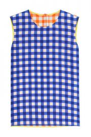 Diane von Furstenberg Gingham Top at Stylebop
