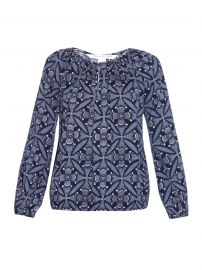 Diane von Furstenberg Hathaway Blouse at Matches