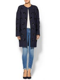 Diane von Furstenberg Isabelle Coat at Piperlime