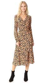 Diane von Furstenberg L   S Woven Wrap Dress at Shopbop