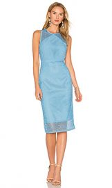 Diane von Furstenberg Lace Dress in True Blue from Revolve com at Revolve