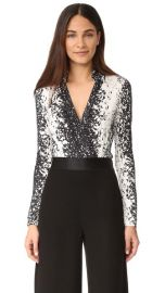 Diane von Furstenberg New Jeanne Bodysuit at Shopbop