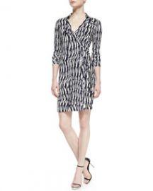 Diane von Furstenberg New Jeanne Two Wrap Dress at Neiman Marcus
