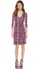 Diane von Furstenberg New Julian Two Wrap Dress at Shopbop