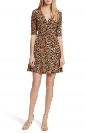 Diane von Furstenberg New Savilla Leopard Print Silk Wrap Dress at Nordstrom