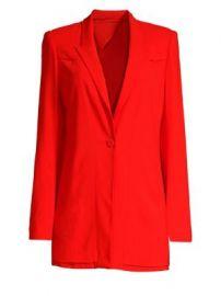 Diane von Furstenberg One Button Blazer at Saks Fifth Avenue
