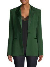 Diane von Furstenberg Peak Lapel Button Blazer at Saks Fifth Avenue