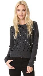 Diane von Furstenberg Revaya Pom Pom Sweater at Shopbop