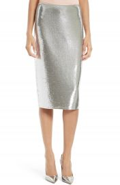 Diane von Furstenberg Sequin Midi Pencil Skirt at Nordstrom