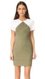 Diane von Furstenberg Short Sleeve Tailored Sheath Dress at Shopbop