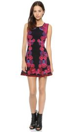 Diane von Furstenberg Sleeveless Jacquard Body Con Dress at Shopbop