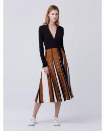 Diane von Furstenberg Stevie Two Pleated Wrap Dress at Nordstrom