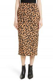 Diane von Furstenberg Tailored Midi Pencil Skirt at Nordstrom