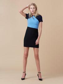 Diane von Furstenberg Tailored Shift Dress at DvF