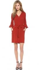 Diane von Furstenberg Tanyana Billow Sleeve Dress at Shopbop