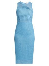 Diane von Furstenberg Twig and circle-lace sleeveless midi dress at Matches