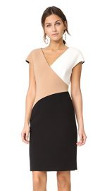 Diane von Furstenberg V Neck Banded Dress at Shopbop