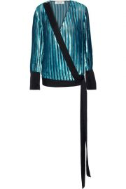 Diane von Furstenberg Velvet Top at The Outnet