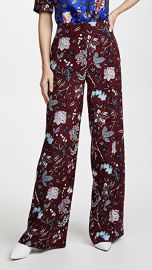 Diane von Furstenberg Wide Leg Pants at Shopbop